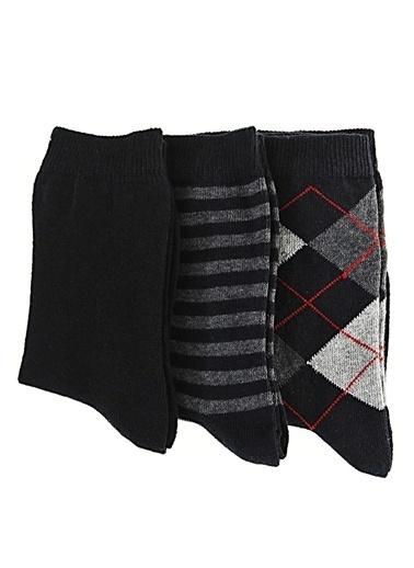 Free Clothing 3'Lü Erkek Çocuk Çorap Lacivert